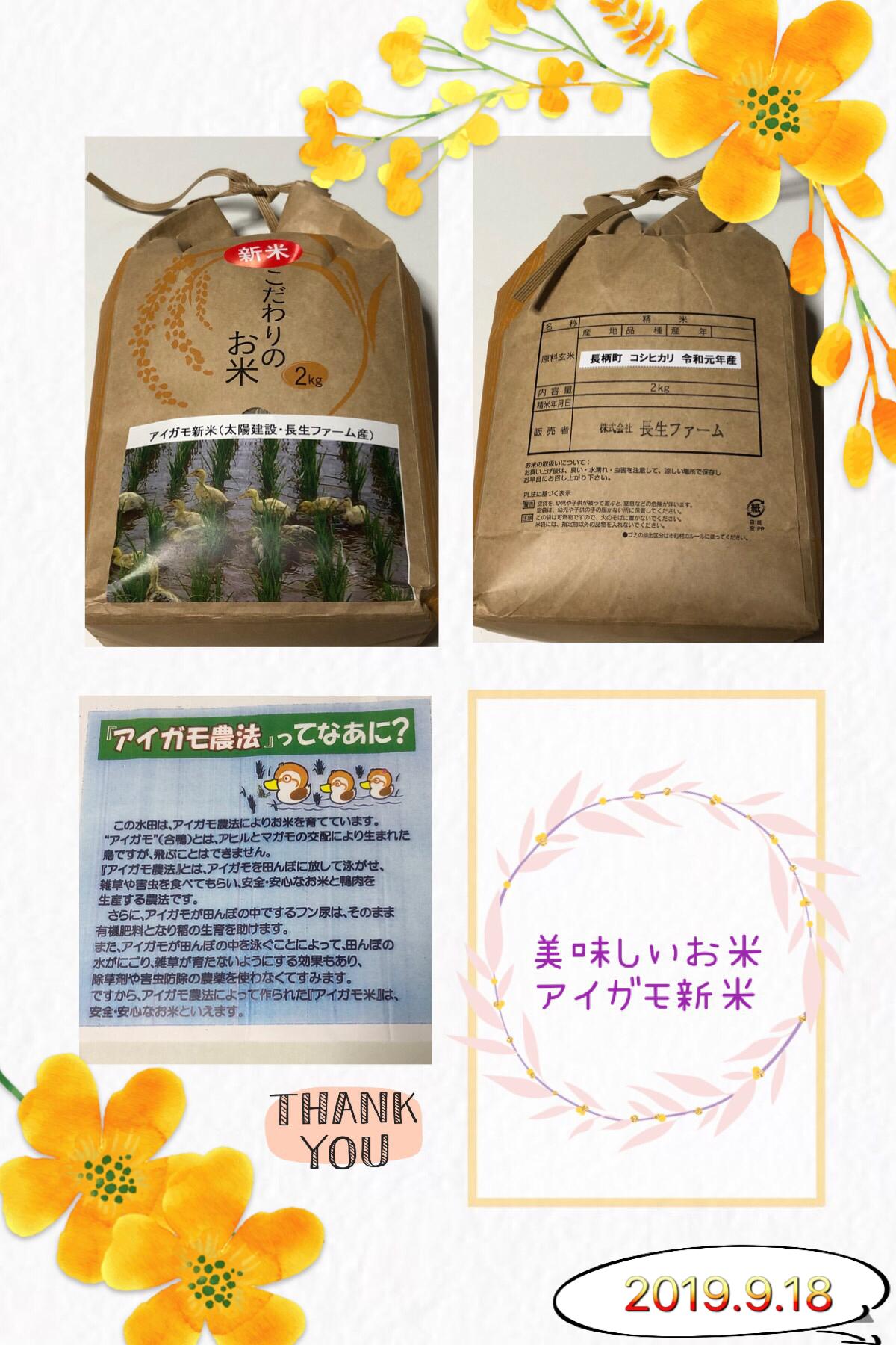 アイガモ米