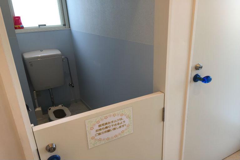 子供用トイレも完備